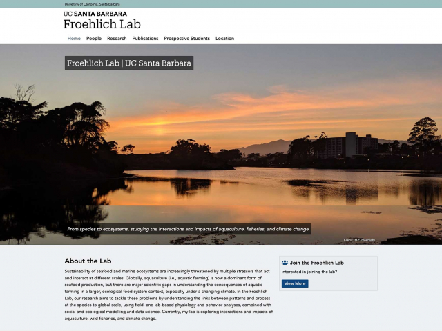Froehlich Lab