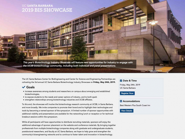 Biotechnology Industry Showcase
