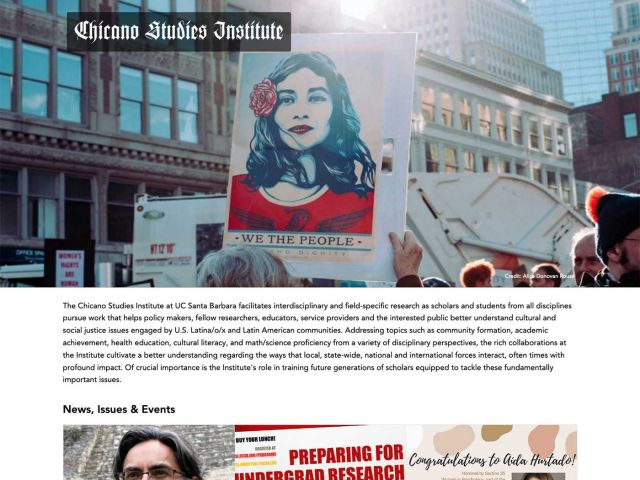 Chicano Studies Institute Website