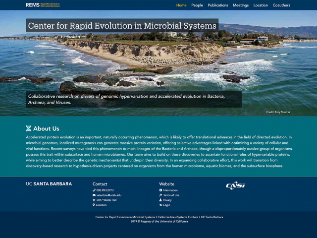 Center for Rapid Evolution in Microbial Systems
